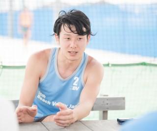 ビーチバレーボール選手/ビズシード株式会社 チーフプロデューサー 松葉 洋弥さん