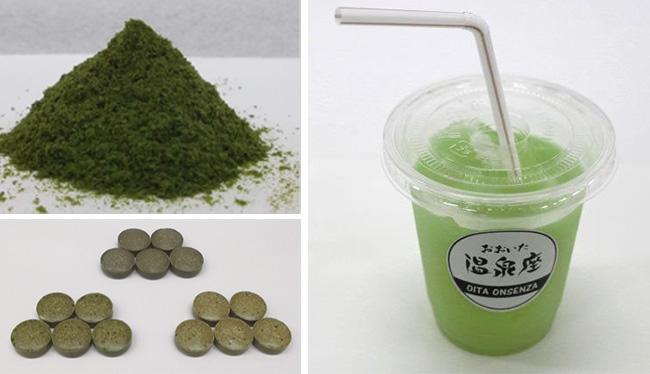 温泉藻類®RG92を配合した食品(開発中)